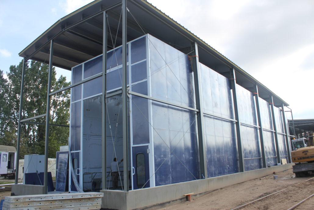 budowa kabina lakiernicza