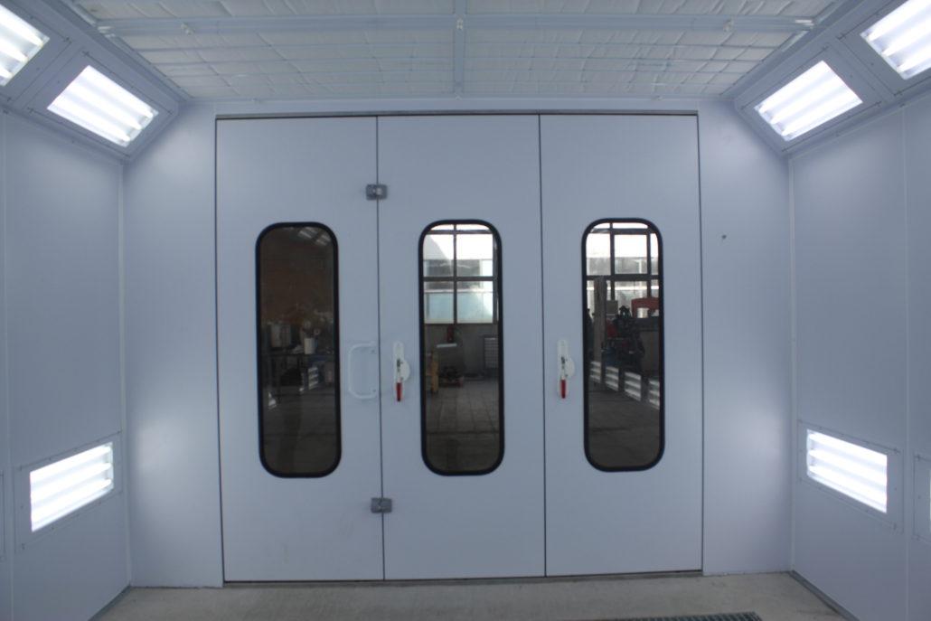 brama wjazdowa kabina